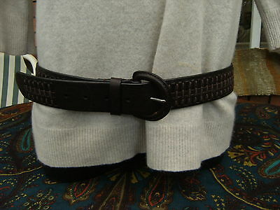 ESPRIT Women's buffalo leather brown Belt in excellent, as new condition.