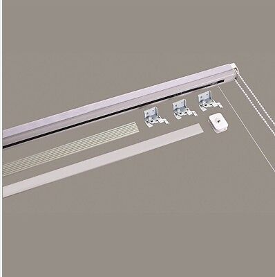 Metal Roman Blind Track / Kit 60cm Wide CUT TO YOUR SIZE
