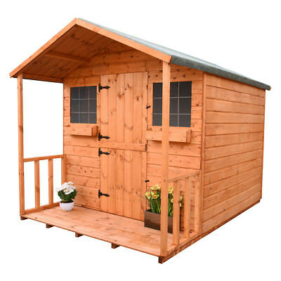 Shedrite 6X6  SECRET LODGE PLAYHOUSE  WITH EXTRA HEIGHT
