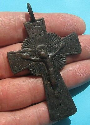 Ancient bronze cross.Big !!!