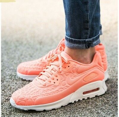san francisco 1ce64 6de27 Nike Damen Air Max 90 Ultra Plush 844886-600 Neu Schuhe Gr.36,