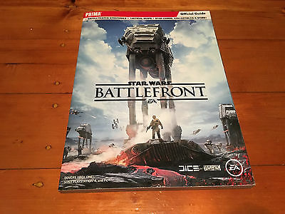 Star Wars: Battlefront: Official Guide Book: PS4 / Xbox One / XB1: Prima