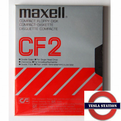 MAXELL Compact Floppy Disk CF2 - Double Sided. Made in Japan | Tesla Station