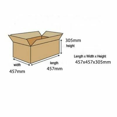 Double Wall Packing Carton 457x457x305mm (Pack of 15) 59189 [ANT02281]