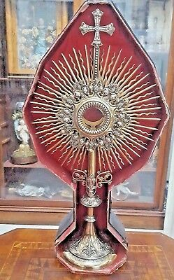 All silver French Monstrance from the 1800's hallmark will polish up beautifully