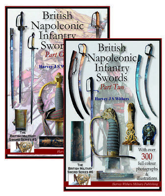 British Napoleonic Infantry Swords Part 1 & 2 - Sword Booklets For The Collector