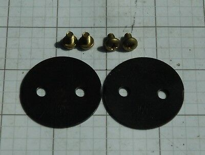 Holley QFT AED 1009-268 1-9//16 Brass Throttle Plate # 268 Free Shipping