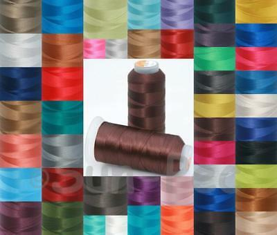 Upholstery Sewing Thread T70 #69 Bonded Nylon for Leather Canvas Outdoor Seats