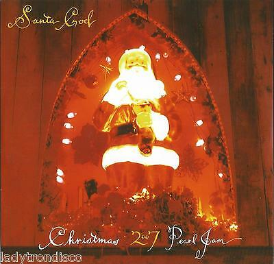 "Santa God - Pearl Jam - 7"" Fan Club Only Vinyl - New Mint Un-Played"