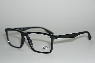 5ef0f1f82d4bb New Authentic Ray Ban RB 7056 2000 Black Matte Black 53mm Eyeglasses ...