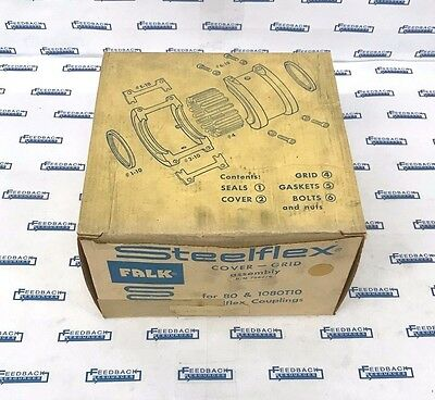 FALK Steelflex Cover-Grid Assembly B/M 758276 for 80 & 1080T10 : NEW