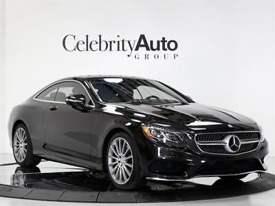 2016 Mercedes-Benz S-Class S 550 4Matic Coupe ($43K OFF) $158K MSRP 2016 MERCEDES BENZ S550 4MATIC COUPE ($43K OFF) $158K MSRP