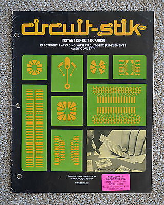 Circuit Stik PC Board Instant Stick-on Products Catalog No.501 - PC Board!
