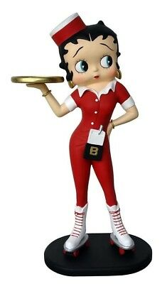 Betty Boop Comic Waitress 3 ft. Car Hop Diner Prop - LM Treasures