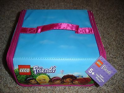 New Lego Friends Heartlake Place ZipBin carrying case storage toy bin play mat
