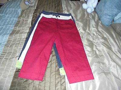 Women's Capris Lot Of 3 Different Brands Size 10