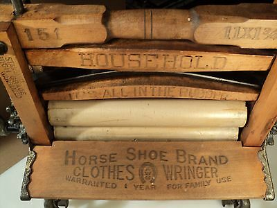 American Wringer Co  # 151-Horseshoe Brand Pat 1888 Clothes Washer Antique