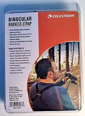 Celestron 93577 Binocular Harness (Black)