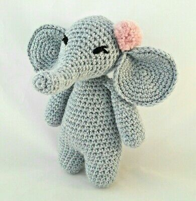 Crochet Kit Elephant Luxury 100% wool & alpaca Crochet Kit Craft Mum Gift