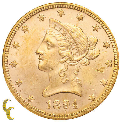1894 $10 Liberty Head Gold Eagle in Brilliant Uncirculated Condition