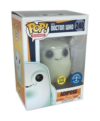 Doctor Who Adipose Pop! Ch Si Illumina Al Buio Glow In The Dark