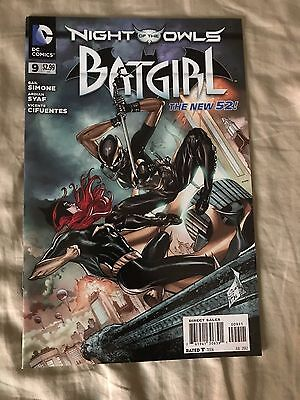 Batgirl #9 DC 2012 - New 52 - Night Of The Owls Tie-In