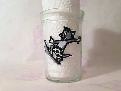Tom and Jerry Surfing Jelly Glass 1990