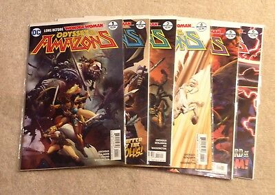 Odyssey of the Amazons #1-6 DC Comics • $9.99
