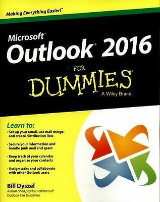 Outlook 2016 for Dummies (Paperback or Softback)
