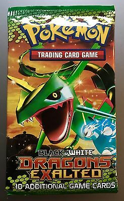 Factory Sealed Pokemon Dragons Exalted B&W Booster Pack SELLING FAST!!