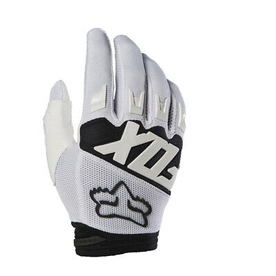2018 Fox  Dirtpaw Race Glove Motorcycle Mtb Gloves - White