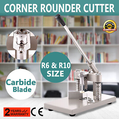 Corner Rounder Cutter Large Punch 2 Blades Aluminum Plate HIGH ADMIRATION