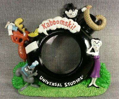The Adventures of Rocky and Bullwinkle Universal Studios 3D Photo Picture Frame