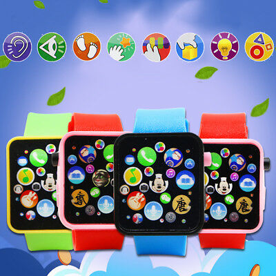 Educational Smart Watch Child Early Learning 3D Touch Screen Music Baby Kids Toy