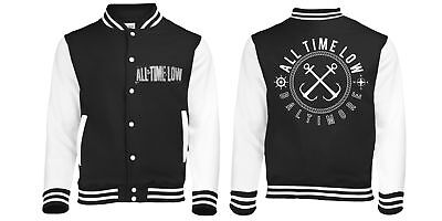 Sea Sick (Baseball Style Varsity Jacket Unisex: Medium) All Time Low