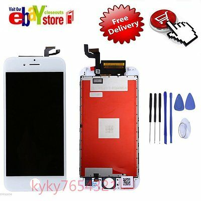 iPhone 6S (4.7'') WHITE LCD Display Touch Screen Digitizer Assembly Replacement