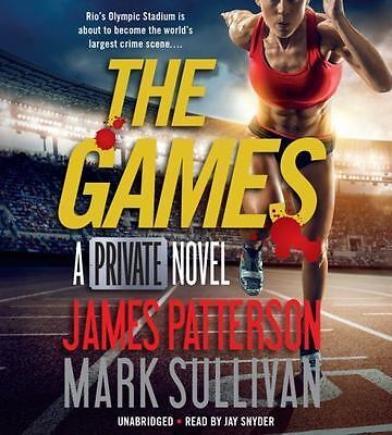 The Games by James Patterson and Mark Sullivan (2016, CD, Unabridged)