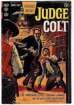 JUDGE COLT #1 (VG/FN) Silver-Age 1st Issue Collector's Item 1969 Gold Key Issue