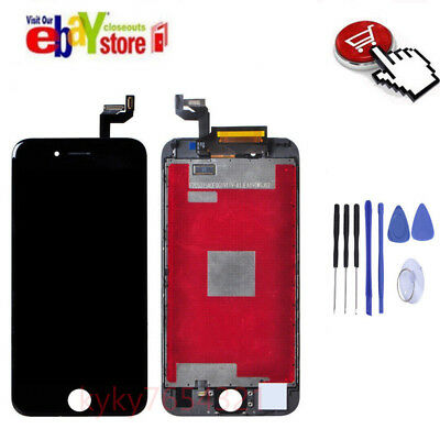 For iPhone 6S 4.7' Black LCD Display Touch Screen Digitizer Assembly Replacement