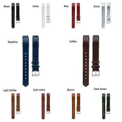 1Pcs Replacement Genuine Leather Wrist Band Strap For Fitbit Alta HR Smart Watch