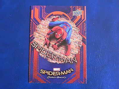 2017 UD Spider-Man Homecoming RB-36 Spider-Man WALMART EXCLUSIVES