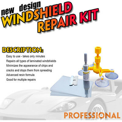 Hot Windscreen Windshield Repair Tool Set DIY Car Kit Wind Glass For Chip Crack