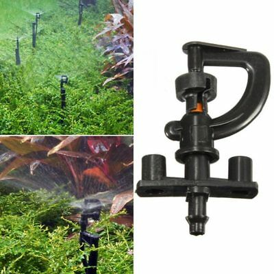 10PCS 360 Degree Micro Sprinkler Nozzles Garden Plastic Water Irrigation System