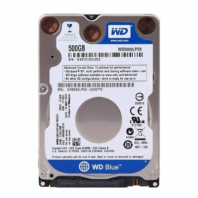 WD Blue 500GB/750GB/1TB/2TB SATA 2.5-Inch Internal Hard Drive Desktop and Laptop