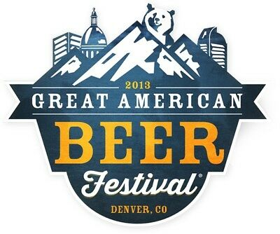 Great American Beer Festival Tickets Friday night!