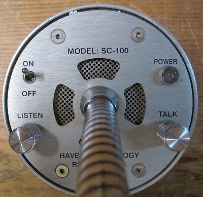 UNUSED NOS Haven Technology SC-100 Two Way Communication Intercom Safety-Comm