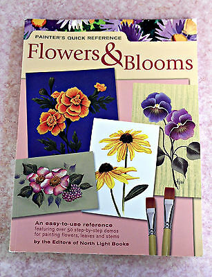 Painter's Quick Reference FLOWERS & BLOOMS  Reference Painting Book/Folk Art  GC