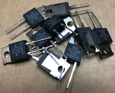 10 X BY249-600  Rectifiers Diode 600V 7A 2-Pin