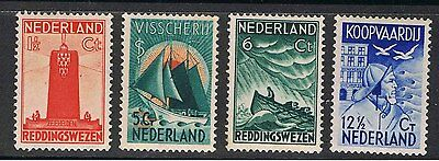 Netherlands 1933 Surtax To Aid Sailors Home