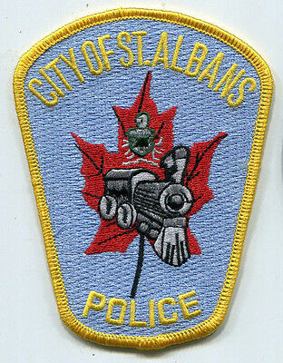 City of St. Albans Vermont Police Patch